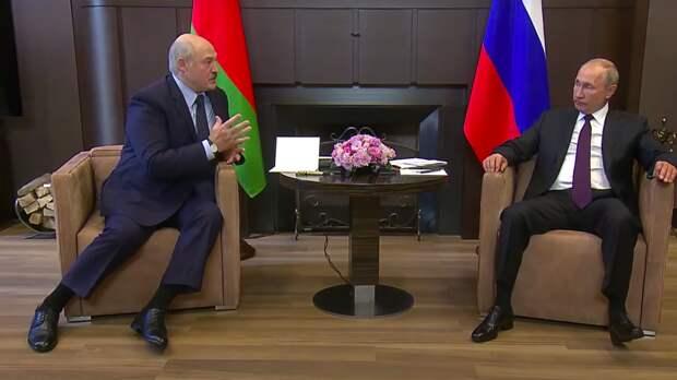 Путин и Лукашенко обсудили двустороннее сотрудничество