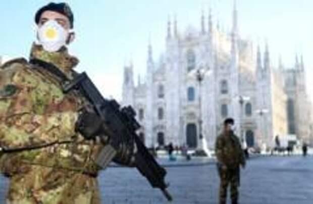 450 заболевших в Италии