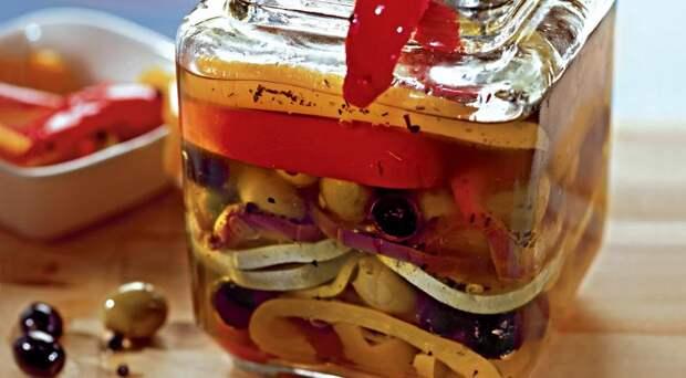 Салат Маринованные овощи по-итальянски