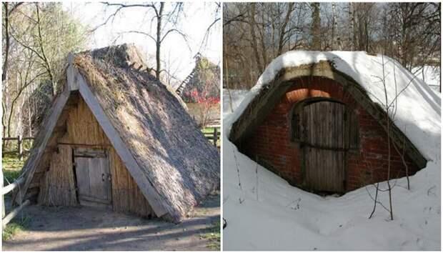 В глубинке России можно увидеть крыши без домов: зачем их строили