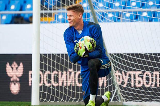 Источник: Вратарь «Краснодара» перейдет в «Зенит» за 2 млн евро