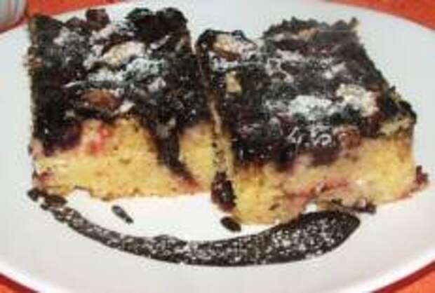 Пирог из манной крупы и вина от Николы Радишича