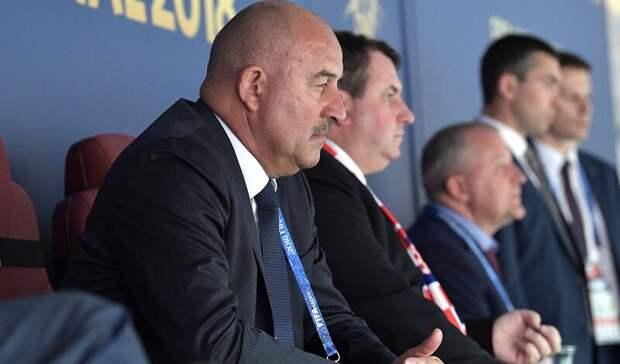 Черчесов огласил заявку сборной России начемпионат Европы