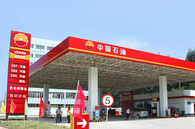 КНР АЗС топливо