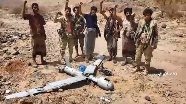 Удары БПЛА-камикадзе по саудовской базе Аль-Вадия