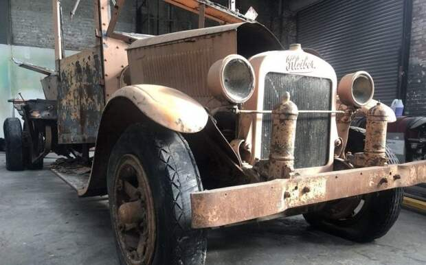 Kleiber — уникальный грузовик, произведенный в Сан-Франциско, которому исполнилось 90 лет