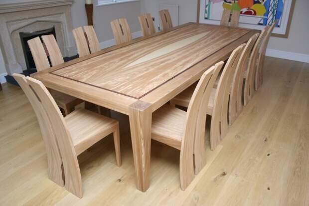 модель обеденного стола своими руками
