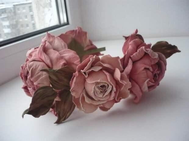 Делаем искусственные цветы