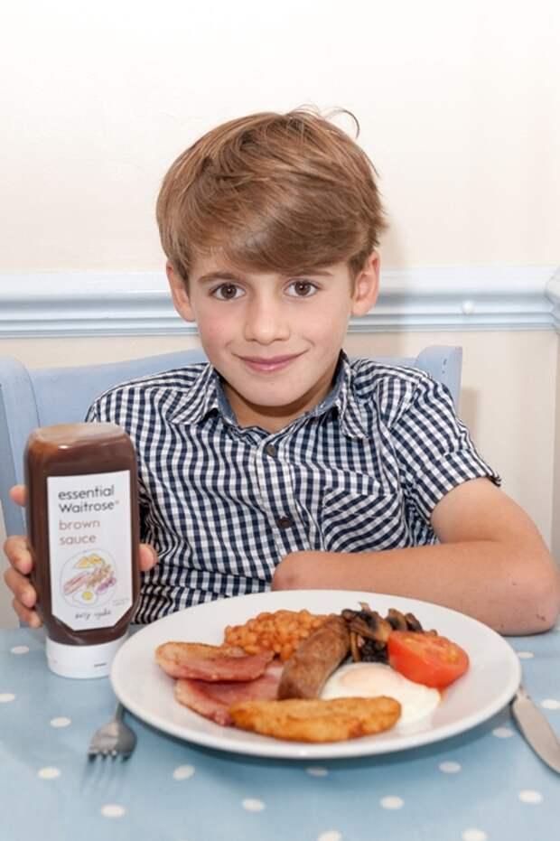 Британский супермаркет сменил упаковку соуса после жалобы 6-летнего мальчика