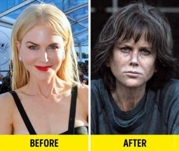 Актеры, которые сильно изменились для роли