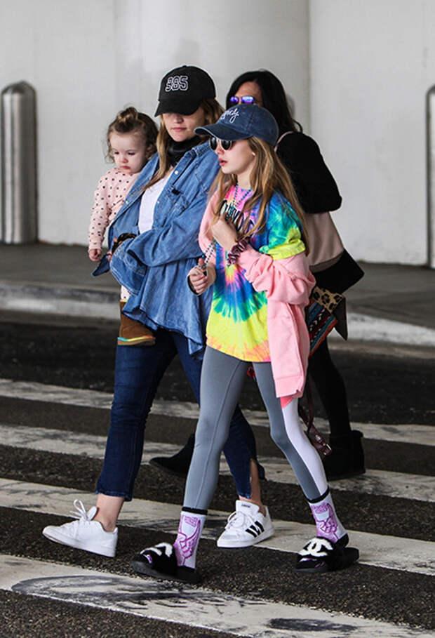 Джейми Линн Спирс  с дочерьми