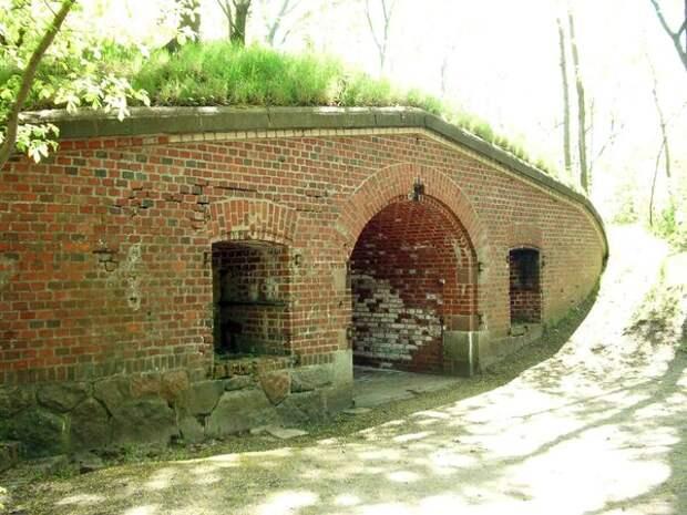 Суровое наследие Кенигсберга - форт №1 Штайн