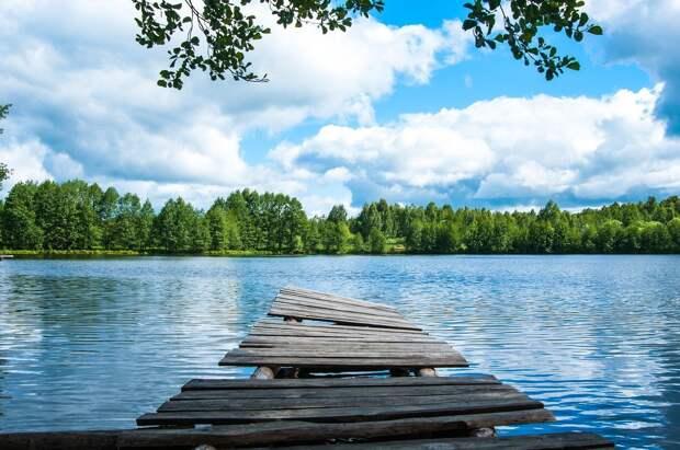 На некоторых реках Удмуртии зафиксировано рекордное снижение уровня воды