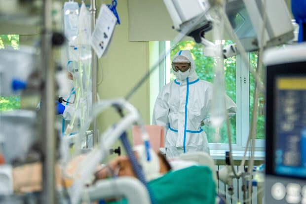 В России за сутки выявлено 24 818 случаев коронавируса