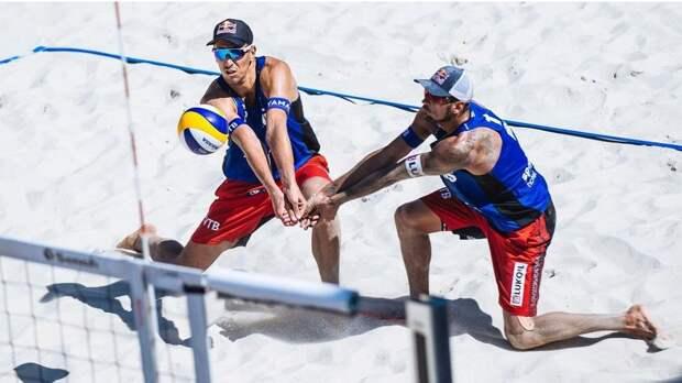 Пляж Сочи - счастливых для наших спортсменов