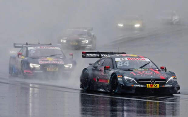 Российский этап чемпионата DTM: аномальная зона
