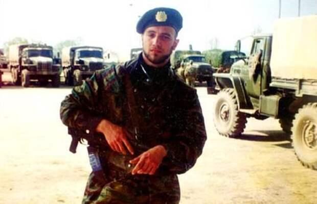 Захар Прилепин в Чечне в составе ОМОН