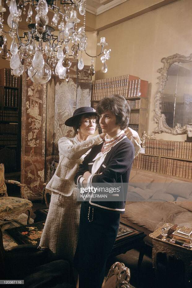 Coco Chanel In Paris, France In 1959 - : News Photo