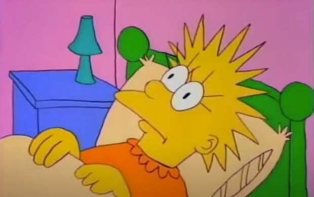 Как выглядела оригинальная версия Лизы из «Симпсонов»?