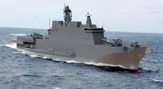 Корабли проекта 23900: универсальные десантные собственной разработки