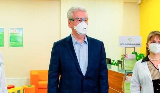 Собянин ответил на главные вопросы об ограничениях из-за пандемии коронавируса