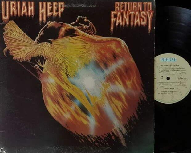 Uriah Heep «Return to Fantasy» 1975 г. ~ вершина достижений группы, как творческих, так и финансовых
