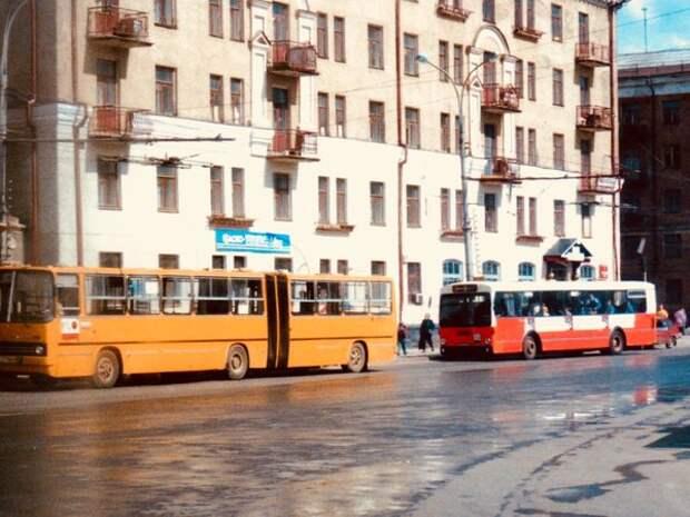 Пермь. На улицах города. 90-е