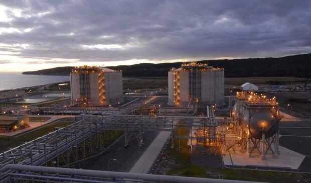 Почти на4% увеличилось производство СПГ вРоссии заянварь–сентябрь 2020