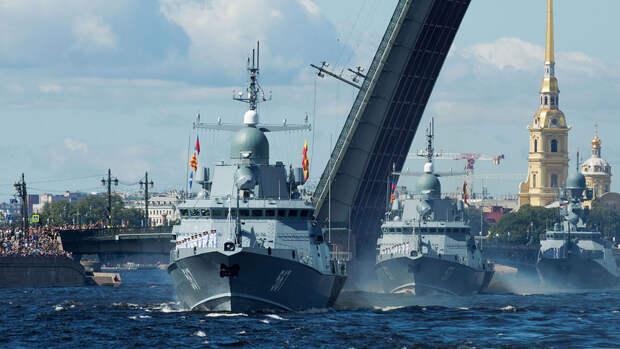 Российский военный флот получит около 40 кораблей в 2021 году