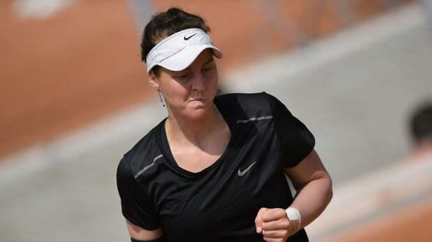 Самсонова вышла в основную сетку турнира в Берлине