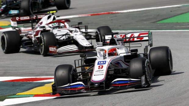 Мазепин прокомментировал итоги Гран-при Испании