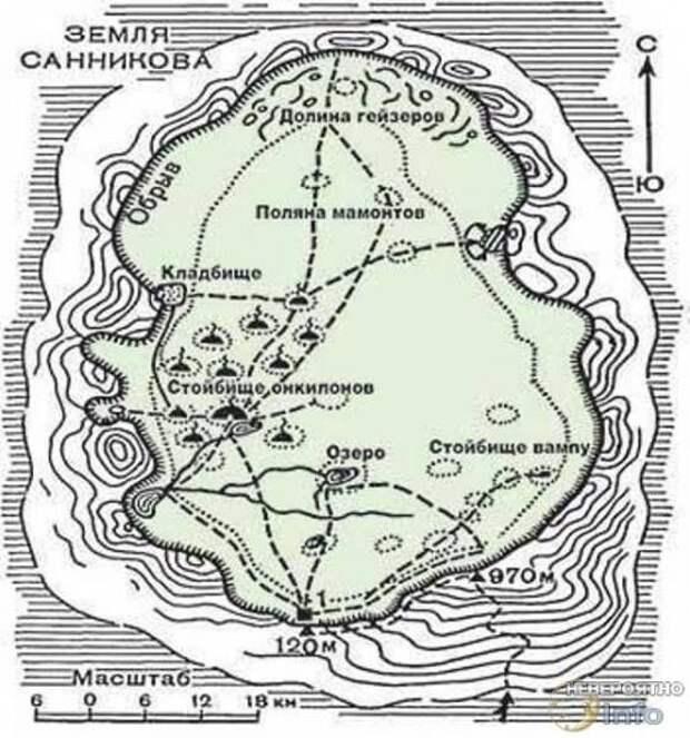 Загадочная русская Земля Санникова