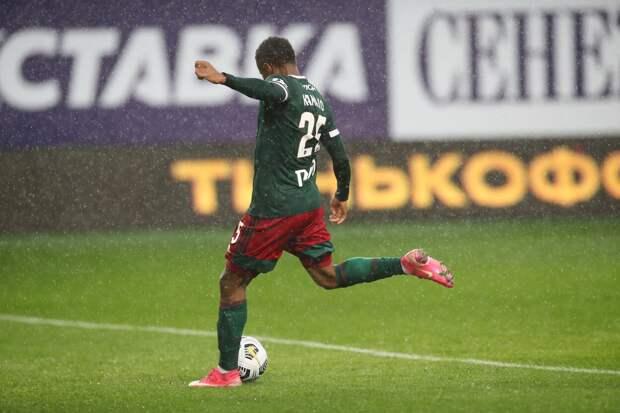Камано получил травму в матче против «Урала»