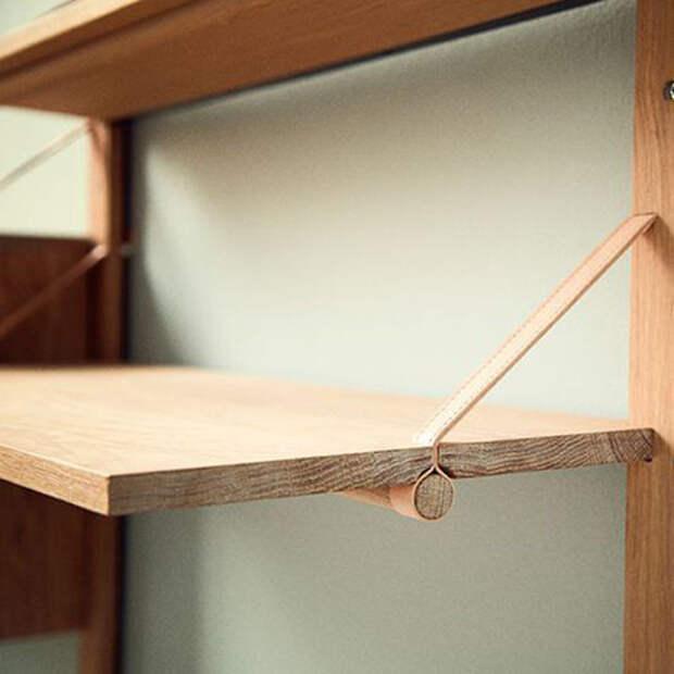 Простые идеи для дома: открытые полки и способы их крепления