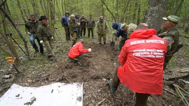 В Калужской области обнаружили обломки советского истребителя