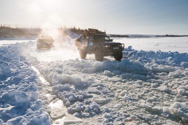 Якутские зимник - дорога жизни и смерти.