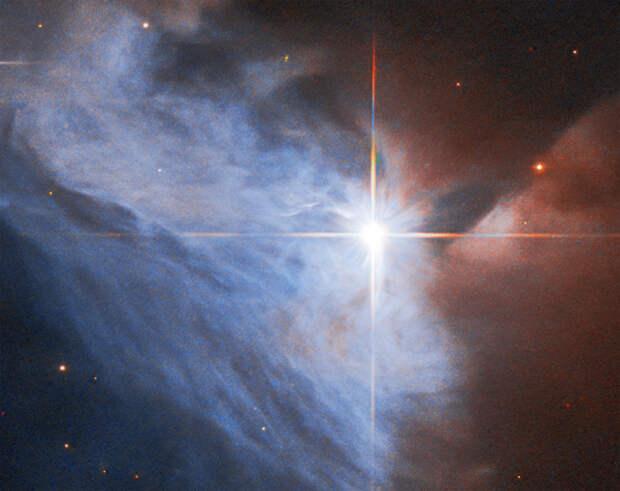 Фото дня: двуликая эмиссионная туманность в созвездии Единорога