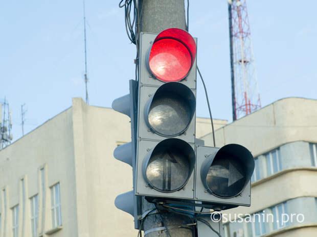 В Ижевске после непогоды восстановили работу светофоров