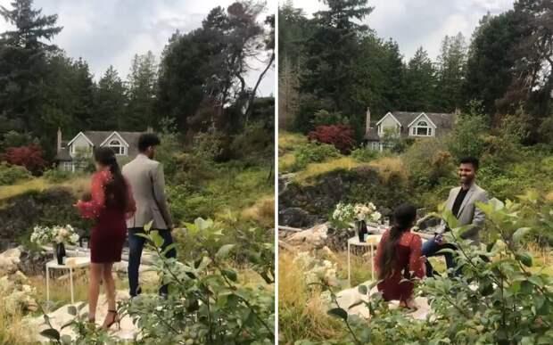Романтики года: парень и девушка сделали друг другу предложение в один день