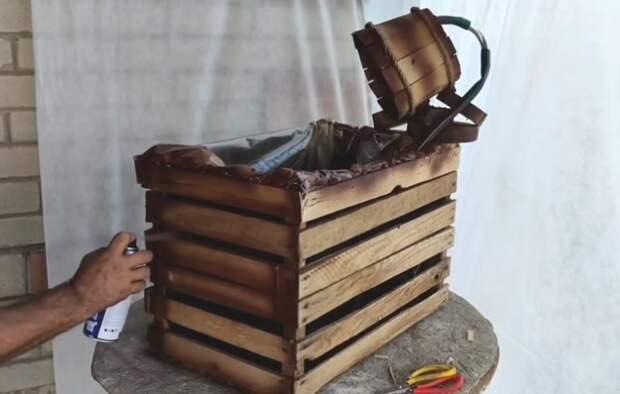 Результат простейшей переделки трех деревянных ящиков впечатлит вас