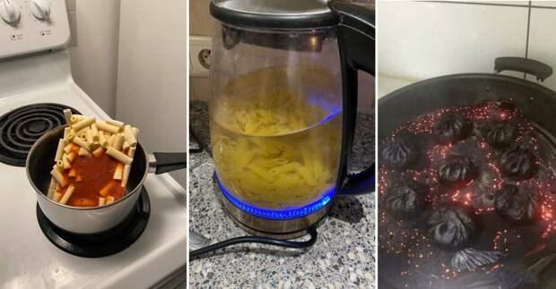 Курьезы, связанные с едой: 14 забавных фото