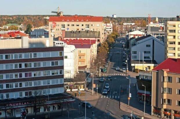 25 крупнейших городов Финляндии