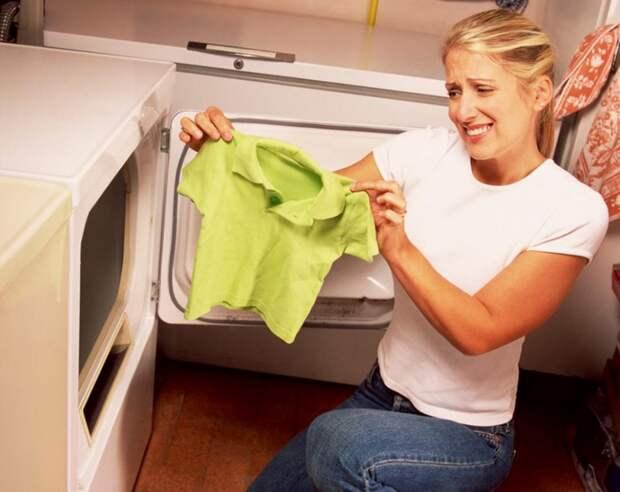Способы вернуть прежний размер одежде севшей после стирки