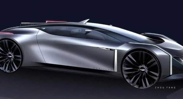 Дизайнер GM представил своё видение изящного купе Cadillac