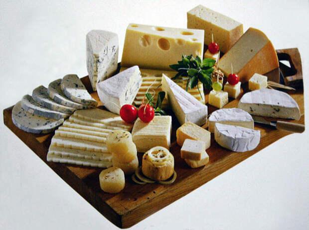150 разновидностей сыров