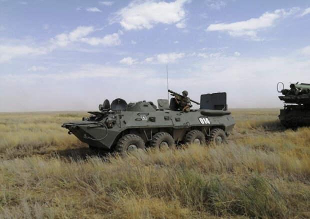 В Алтайском крае подразделения ПВО ЦВО отразили массированный авиационный удар условного противника
