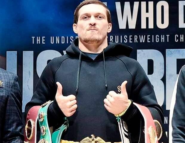 ВРоссии наградили украинского боксера Усика