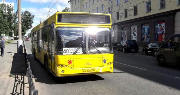 В автобусах Ижевска усилили антиковидную профилактику
