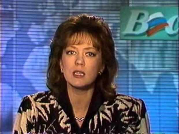 Развал СССР 1992 январь 02. Светлана Сорокина в программе ВЕСТИ