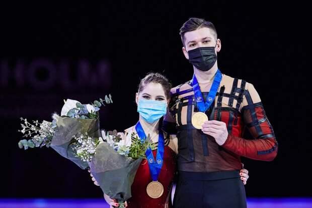 Ещё одно золото: Мишина и Галлямов одержали громкую победу на ЧМ по фигурному катанию